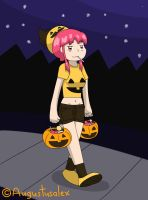 Nonon Goes Trick-Or-Treating by Augustusalex
