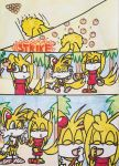 Request: Tails+Zooey VS the giant octopus pg 2 by DeeTheFox