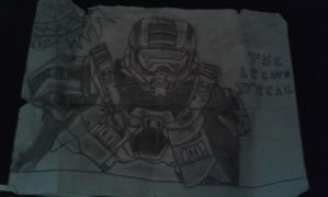 The Master Chief by xprotector20