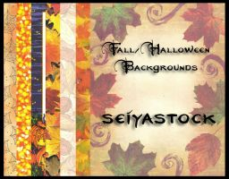 Fall-Halloween Backgrounds by seiyastock