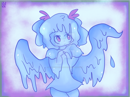 Angel Slime by Rainbowdoodler209