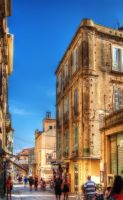 Tropea's street - HDR by yoctox
