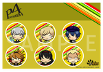 Persona 4 Button by herius