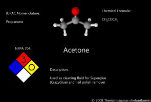 Acetone - NFPA Edition by Xinorbis
