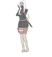 Female Naruto Adoptable 3 ~SOLD~ by BayneezOne