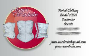 New Business Card by Janes-Wardrobe