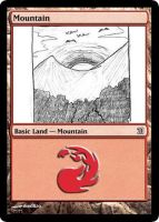 MtG: Mountain by Overlord-J