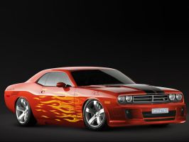 Dodge Challenger by Shuztel