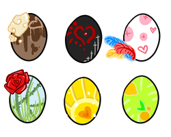 [CLOSED] Mystery Valentines Eggs - Point Adopts by OkayIlie