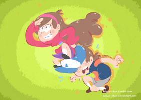 +Gravity Falls - Let's Go!+ by Kelsea-Chan