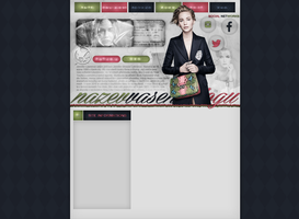 Premade layout with Jennifer Lawrence by FlowerskaHoneyLand