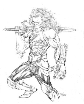 Thundercats's Lion-O by SpiderGuile