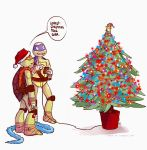 TMNT AC 5 - Christmas tree by lorna-ka