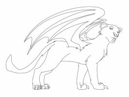 Lineart for Phoenix by ShardianofWhiteFire
