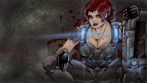 Gears of War - Alex Brand by TheEndofOurLives