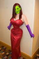 Jessica Rabbit mask by wonderstories32