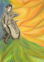 Cellist by MP-R