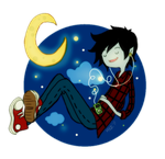 Marshall Lee by Mittenzz