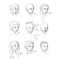 Hair Styles Vol 12 by ron-guyatt