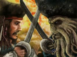 The Two Captains Fight. by Ruth-Tay