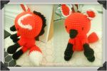 Maned Wolf: Art Crossing Gift by the-carolyn-michelle