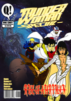 Thunder Woman RoA Special Mock Cover by BSDigitalQ