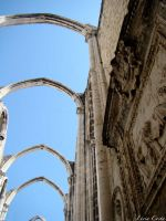 Ruins Carmo Convent by beatrice