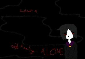 ..The feeling of alone by Keiko-san