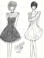 Party Dresses by DelusionalDianne