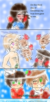 The twelve days of Christmas (part 3) by Miryam123
