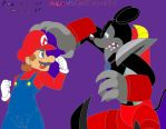 A fight as old as 3 years: Mario vs Einst Mickey! by Nawel249