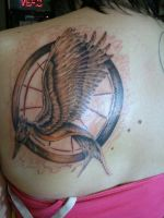 Hunger Games Tattoo by CrazyRevy