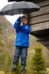 Erlend on trampoline by olaover