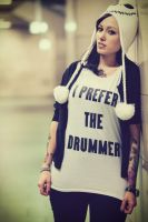The Drummers Girl by JHR87