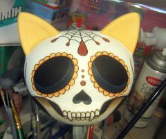 Day of the Dead Trikky WIP 6 by ReverendBonobo