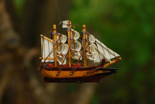 little pirate ship by objekt-stock