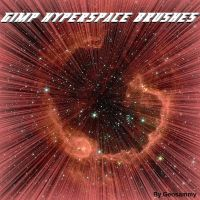 Gimp Hyperspace Brushes by Geosammy