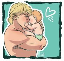 Baby Girl - Kristoff and Heidi by NightLiight