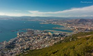 Amazing View from the Rock of Gibraltar by Cloudwhisperer67