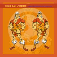 Snake Clan Warriors by thejason10