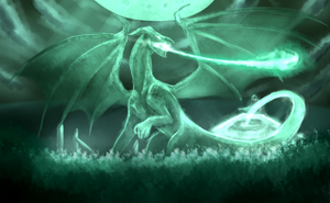 :1001: Jade Dragon by Inupii