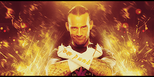 Cm Punk by maher77