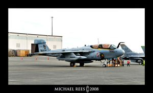 Navy EA-6B Prowler by Luv2suspendyou