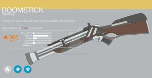 Destiny Exotic Shotgun - Boomstick by gearmaster154