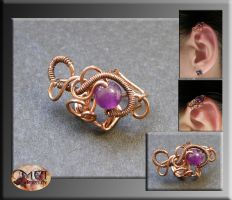 Mini earwrap- wire wrapped by mea00