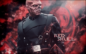 Red Skull tag by Synthasion