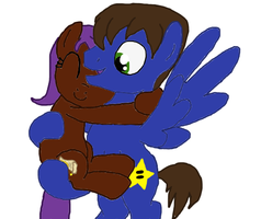 Eliyora Hugging Chaud by ChaudStarpower