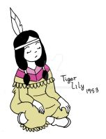 Draw Everyday 2012 - Tiger Lily by gabzillahz
