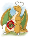 Dragonite's Meal by Artistdragon