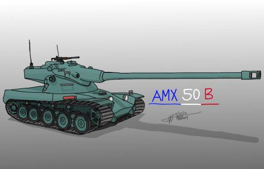 AMX 50 B by LoneWolf071
